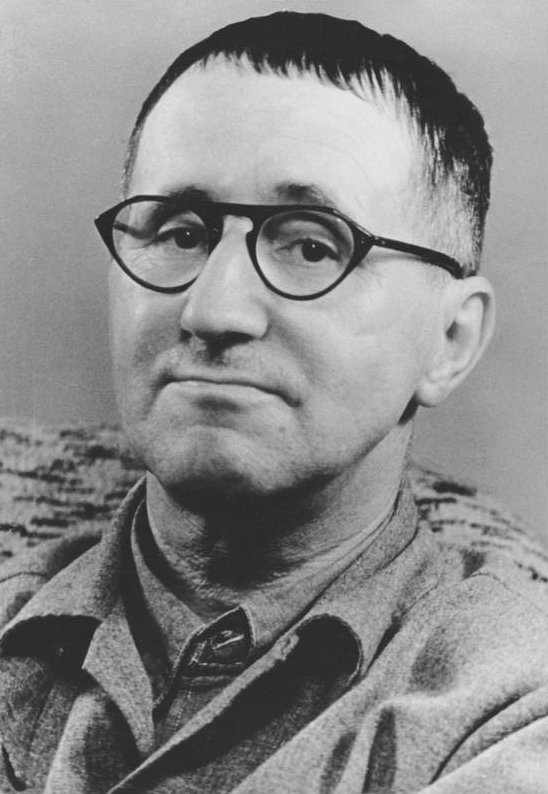 ADN-ZB/Kolbe 9.4.1980 [Datum Archiveingang] Bertolt Brecht geb. 10.2.1898 Augsburg gest. 14.8.1956 Berlin, Dichter, Theatertheoretiker und Regisseur.