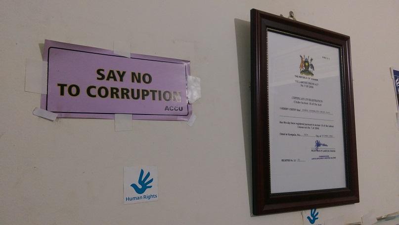 """""""Say No to Corruption"""""""