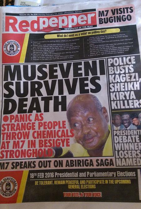"""So funktioniert Boulevard-""""Journalismus"""" in Uganda"""