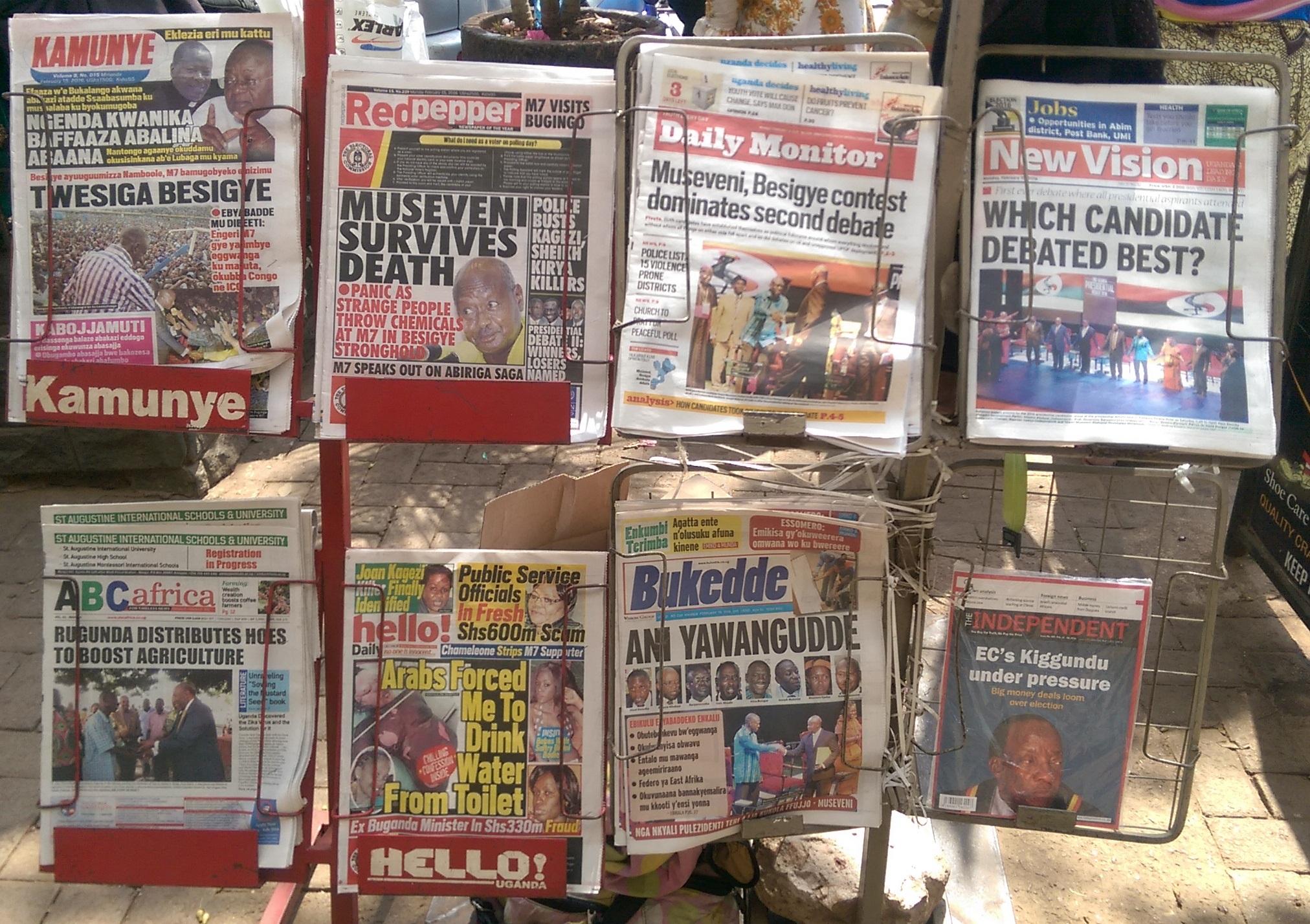 Uganda: Wie Strukturen Medienfreiheit einschränken
