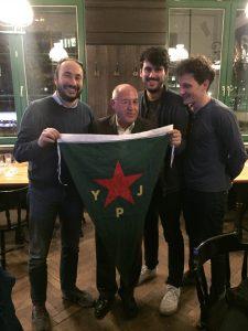 Gregor Gysi und die Partei der Europäischen Linken solidarisch mit den KurdInnen in Nordsyrien/Rojava!